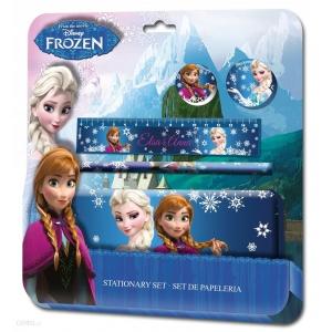 Zestaw szkolny - piórnik + akcesoria Frozen - Kraina Lodu