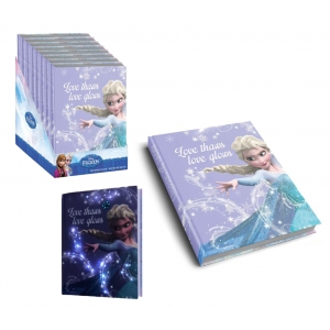 Pamiętnik ze światełkami LED Frozen - Kraina Lodu