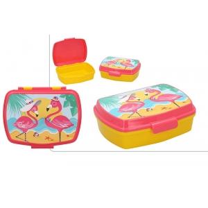 Pudełko śniadaniowe Flamingi