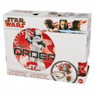 Zestaw śniadaniowy ceramiczny Star Wars 3 elementowy