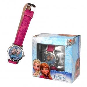 Zegarek na rękę w pudełku prezentowym Frozen - Kraina Lodu