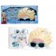 Zestaw prezentowy: akcesoria do włosów, biżuteria i okulary przeciwsłoneczne 3D Frozen - Kraina Lodu