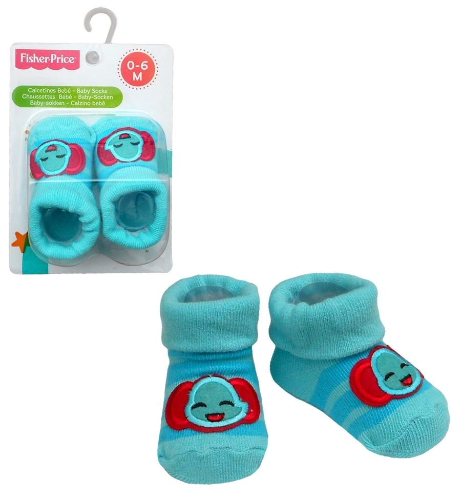 Skarpetki niemowlęce – słoń Fisher Price
