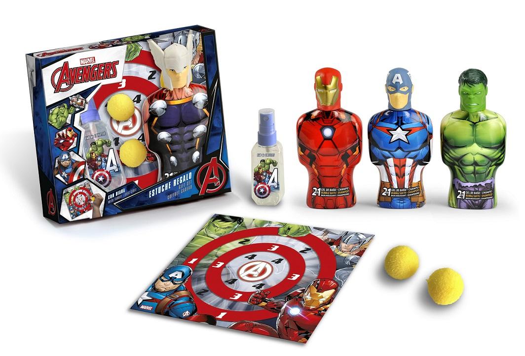 Zestaw prezentowy z kosmetykami Avengers
