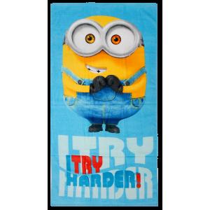 Ręcznik kąpielowy Minionki 70x140cm