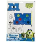 Monsters University colouring pad set