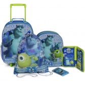 Monsters University luggage set - 5 pcs
