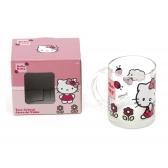 Kubek szklany Hello Kitty