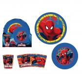 Zestaw śniadaniowy 3 el. Spiderman