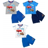 Cars baby t-shirt / short set
