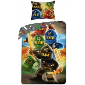 Lego Ninja reversible bedset 140x200cm