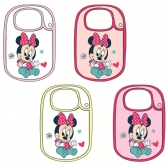 Minnie Mouse baby bib
