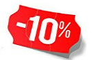 Products with 10% discount