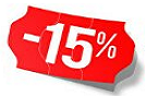Products with 15% discount