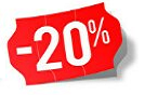 Products with 20% discount