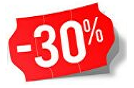 Products with 30% discount